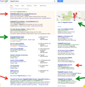 9 First Page Listings on Google