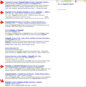 VR on Page One Google